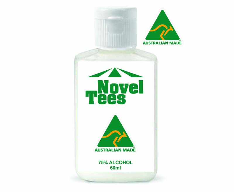 60ml Sanitiser Made in Australia