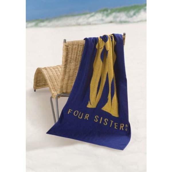Indent Woven medium Beach towel