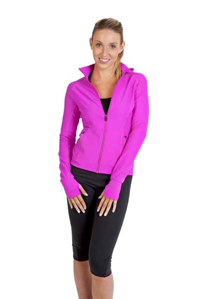 Ladies AVA Nylon/Spandex Jacket
