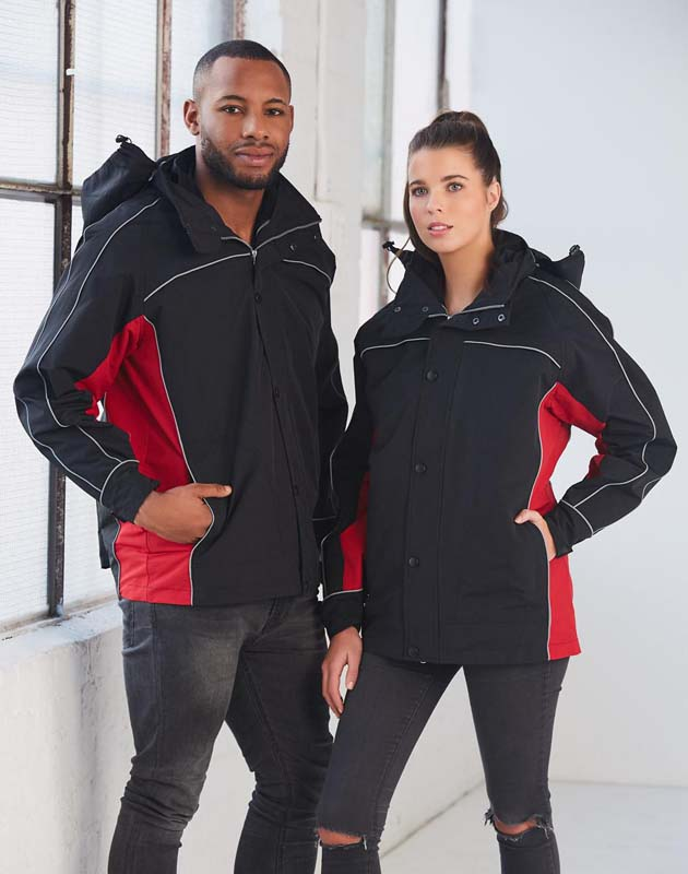 3-in-1 Jacket With Reversible Vest