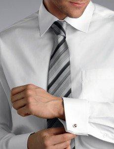 John Kevin Premium White Oxford Shirt