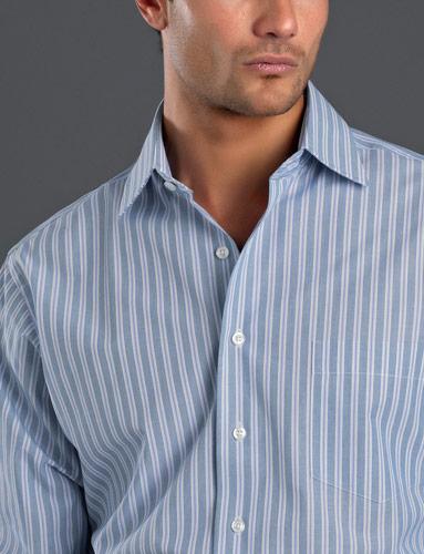 John Kevin Fashion Stripe Shirt