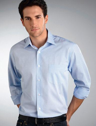 John Kevin Mini Check Shirt