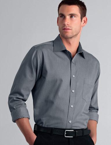 John Kevin Pin Stripe Shirt