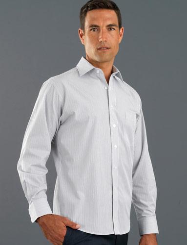 John Kevin Herringbone Stripe Shirt
