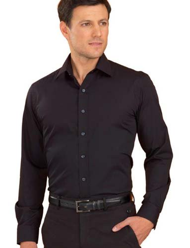 John Kevin Poplin Stretch Shirt