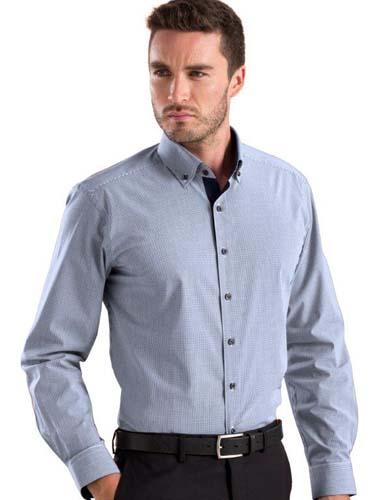 John Kevin Micro Check Shirt