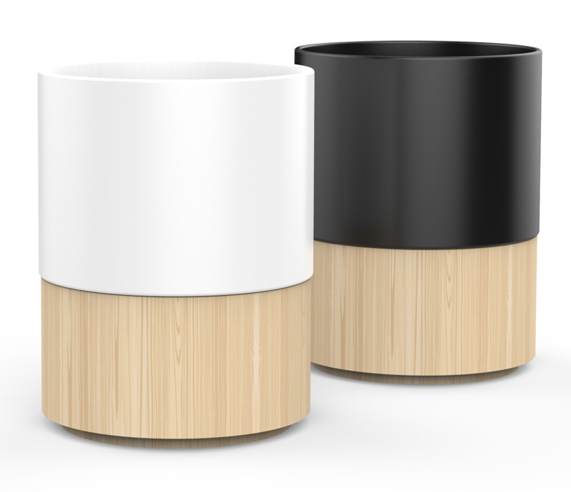 Ceramic Bamboo Coffee Cup