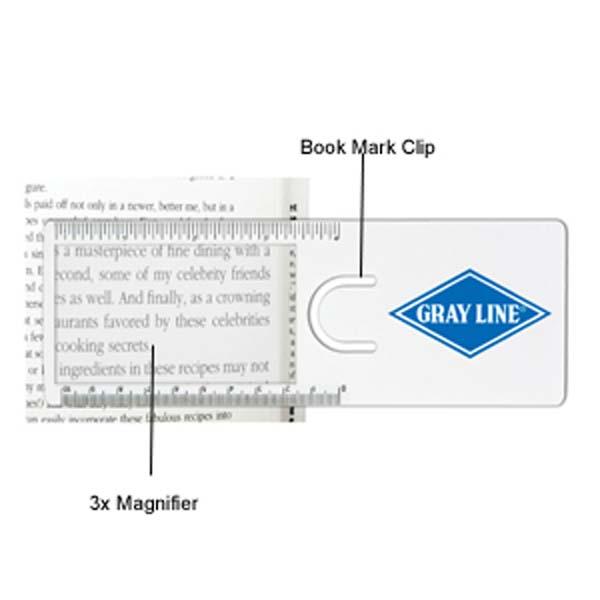 The Easy Reader Magnifier Ruler