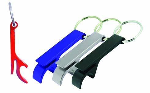 Argo Colored Bottle Opener Key Ring