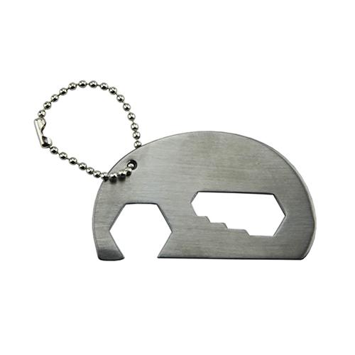 Elephant Bottle Opener Key Ring