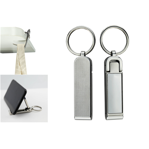 Mobile Stand and Hanger Key Ring