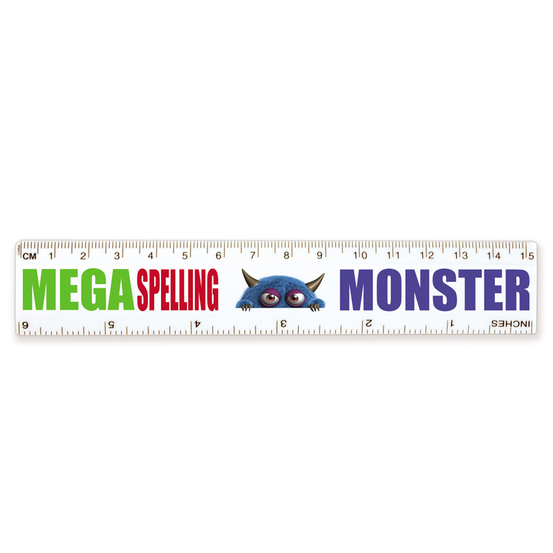 White Ruler 15cm