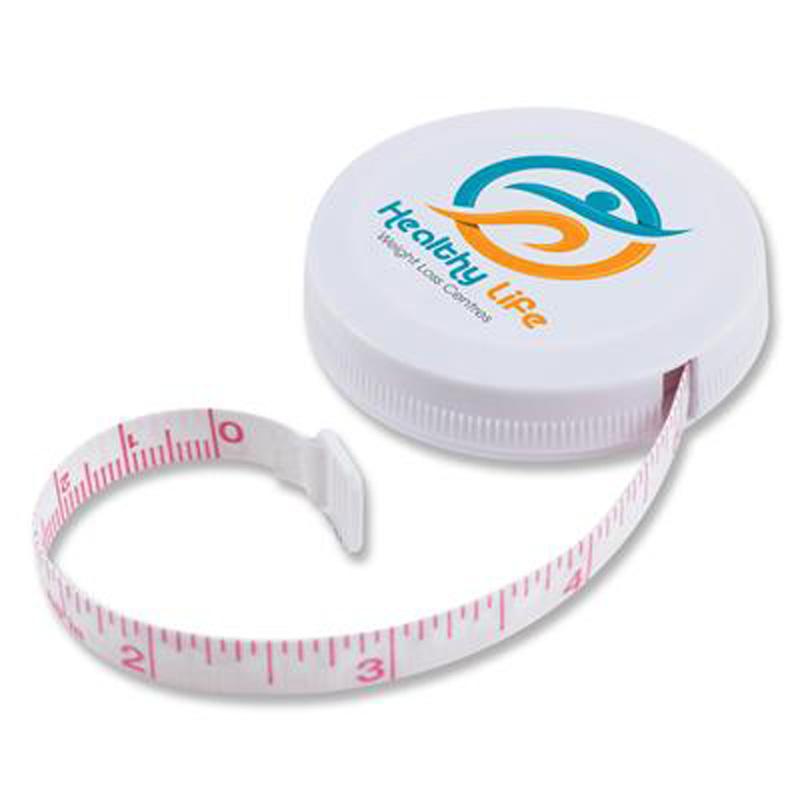 White Styleline Tape Measure