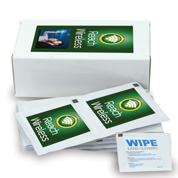 Clear-View Screen Wipes