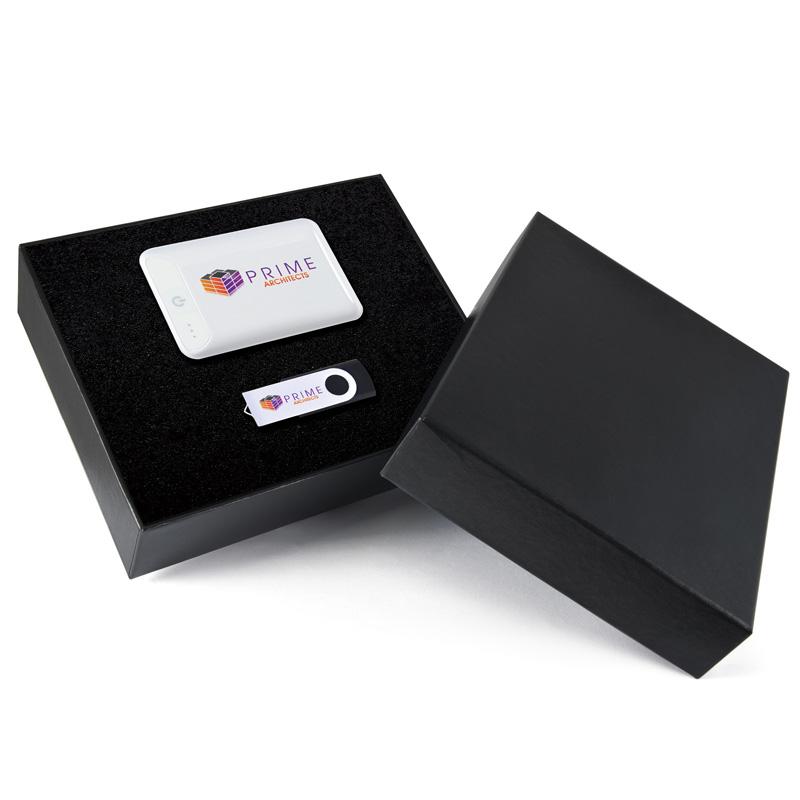 Photon Power Bank and USB Drive Set