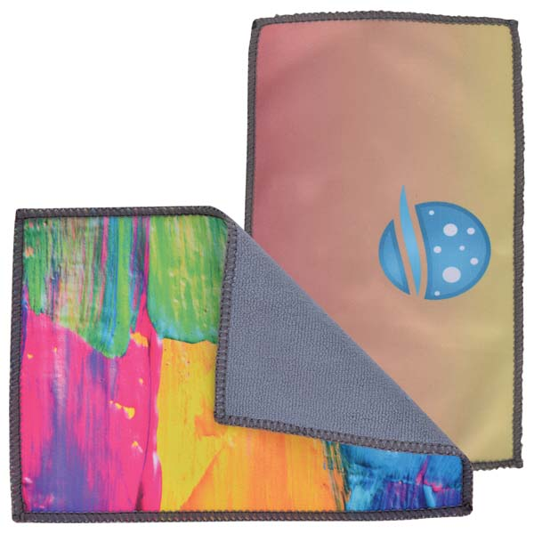 Smart Custom Microfibre Cleaning Cloth (Indent)