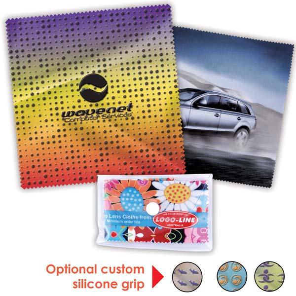 Custom Superior Hi Microfibre Lens Cloth (Indent)