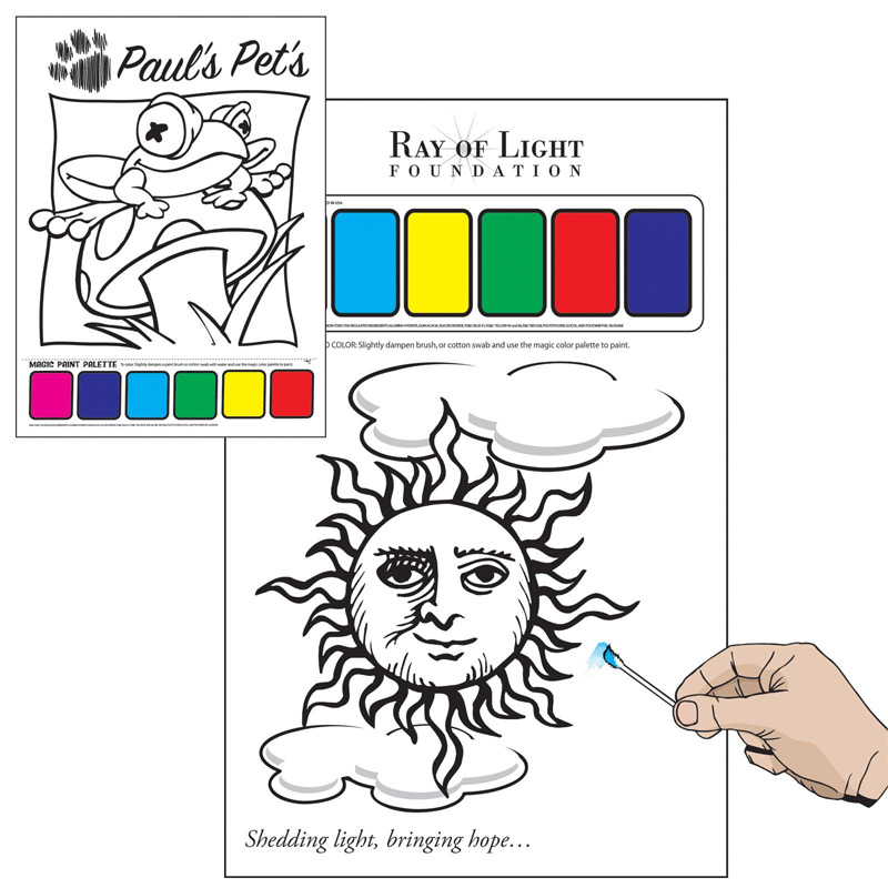Picasso Paint Sheets