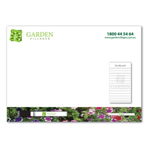 A3 Magnetic Whiteboard w/ Notepad