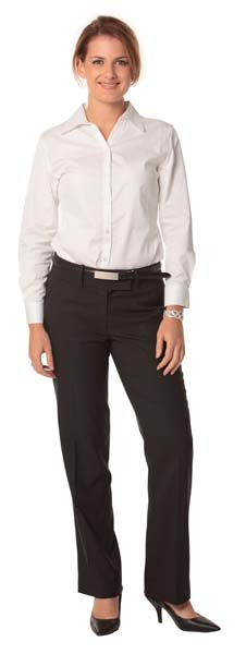 Ladies Poly/Viscose Low Rise Pants