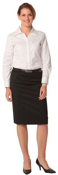 Poly/Viscose Pencil Skirt