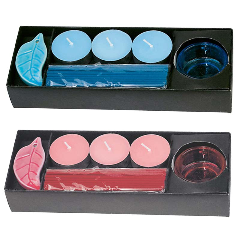 Candle Set Incenso