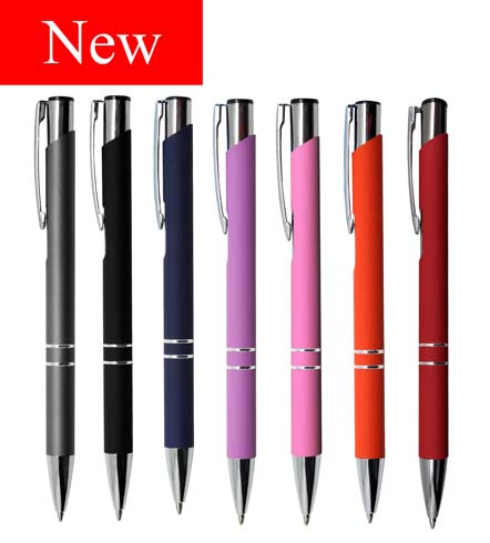 Euroauz Rubberised Pen