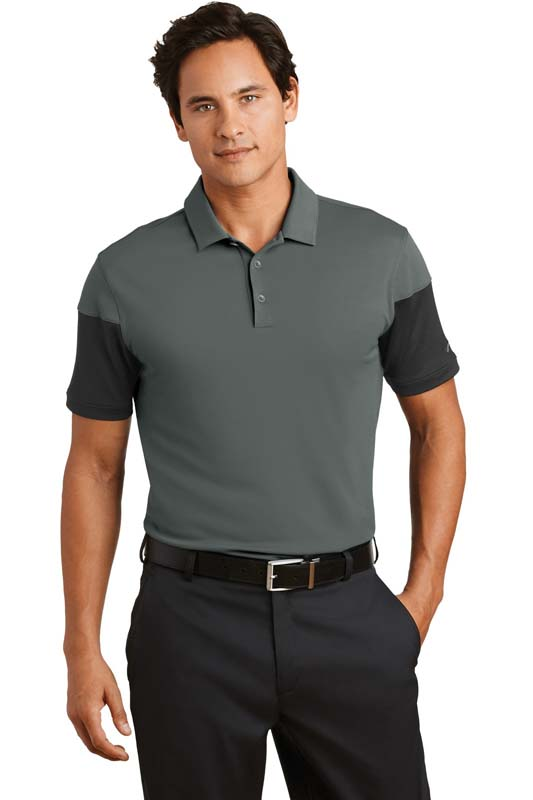 Nike Dri-FIT Sleeve Colorblock Modern Fit Polo