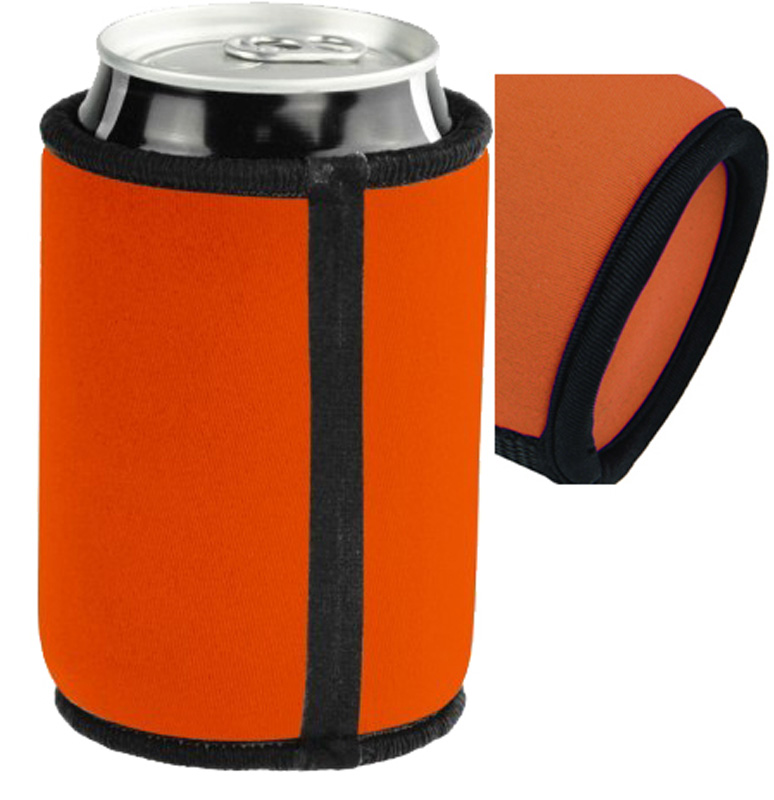 Stitched and Taped Promo Can Cooler