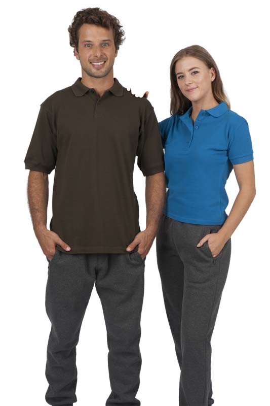 Cotton Pigment Dyed Polo