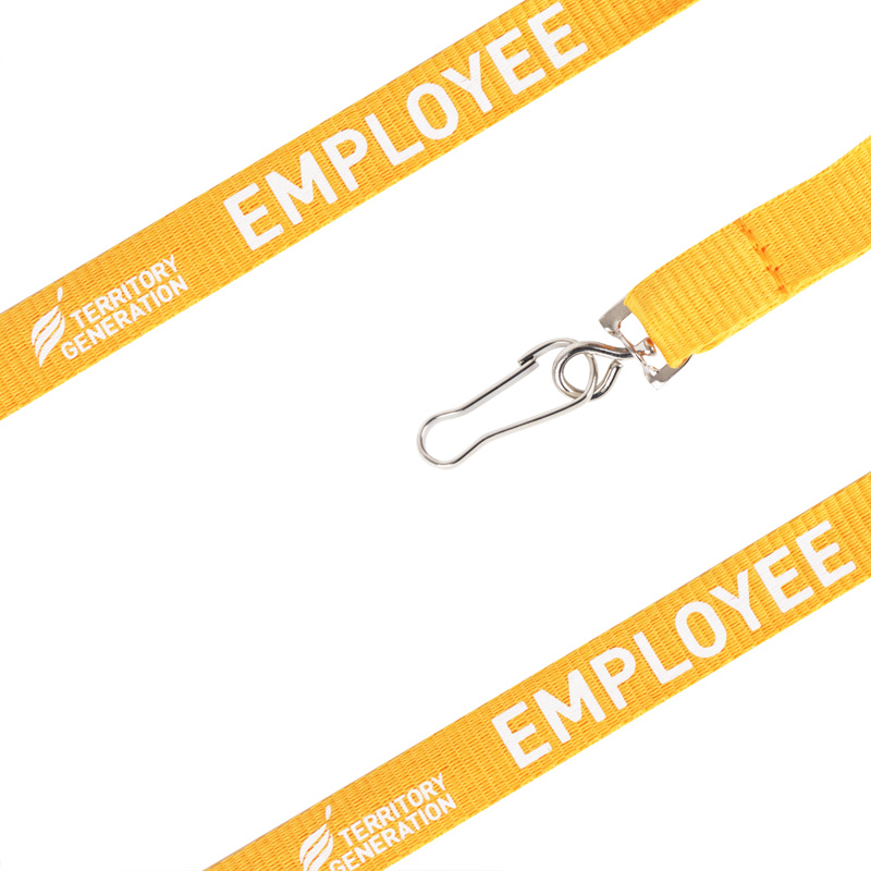 20mm Promotional Poly Ribbed Lanyard