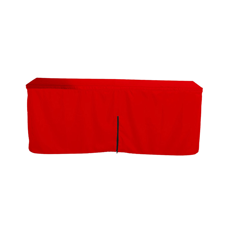 Fitted Table Cloth With Zipper Back (Small 4ft)