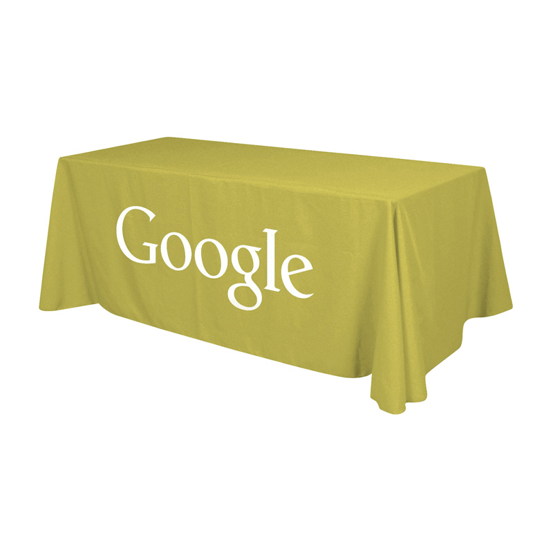 3-Sided Throw Table Cloth (Small 4ft)