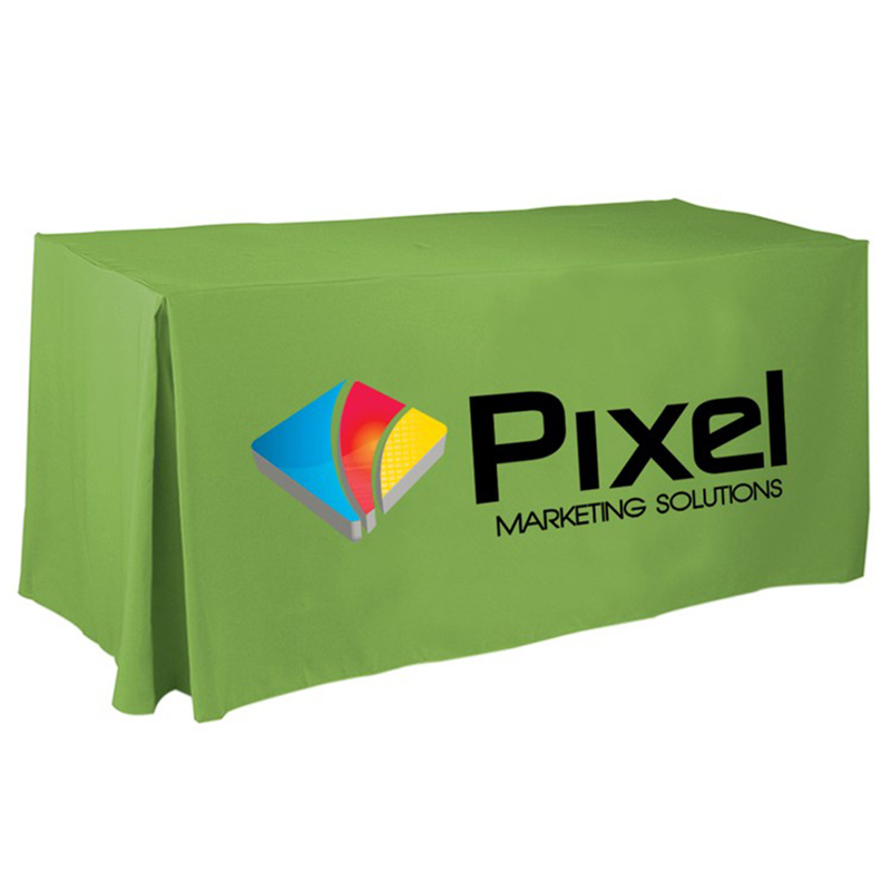 4 Side Pleated Table Cloth (Large 8ft)