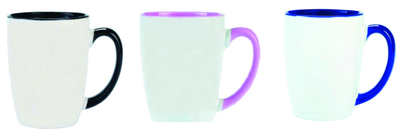Two Tone Carnival Coffee Mug