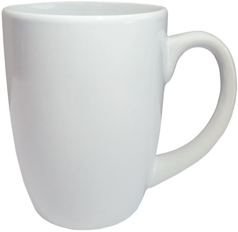 White Calypso Ceramic Mug