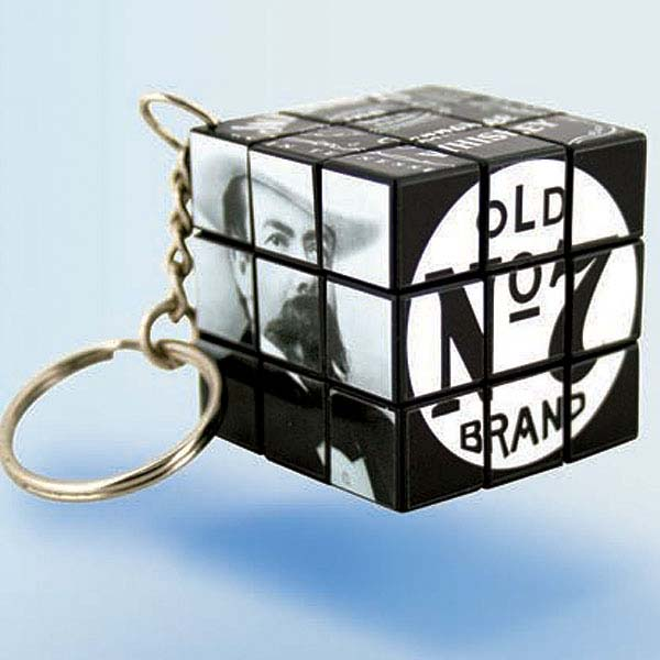 Rubik's Cube Keyring 3x3