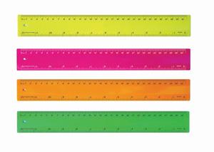 Fluro Ruler 30cm