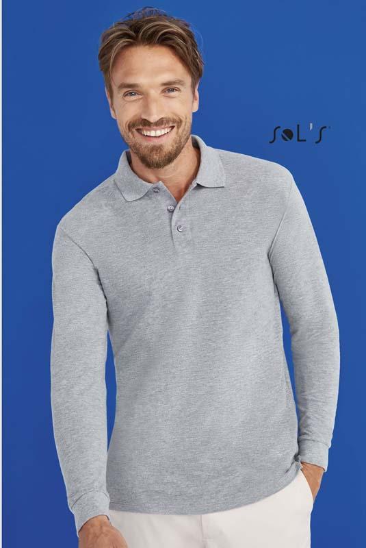 Star Long Sleeve Polo Shirt