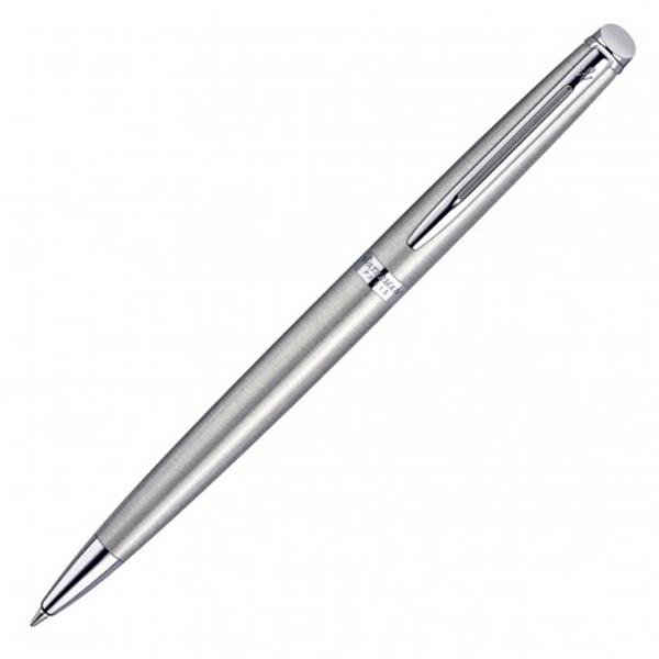 Waterman Hemisphere Rollerball Pen- Brushed Stainless