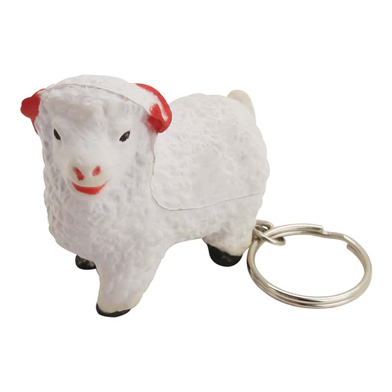 Stress Sheep Key Ring