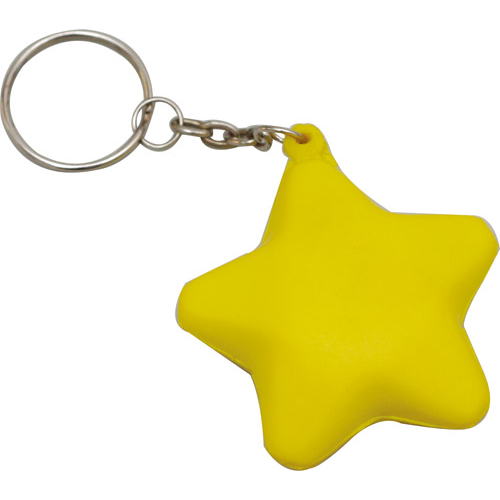 Stress Star Key Ring