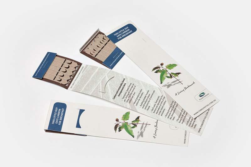 Vegetables Bookmark 5 Seed Pack