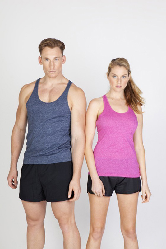 Greatness Athletic T-Back Singlet
