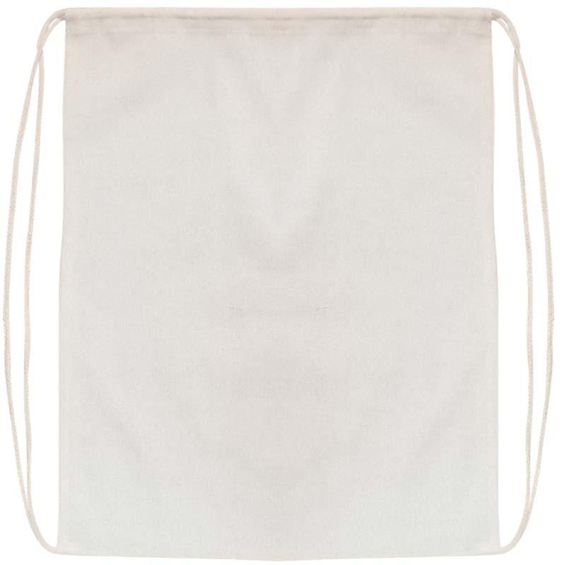Drawstring Calico Bag
