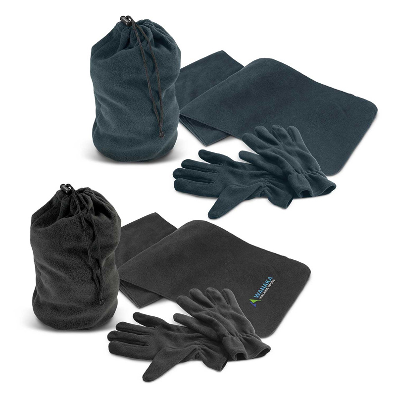 Seattle Scarf and Gloves Set