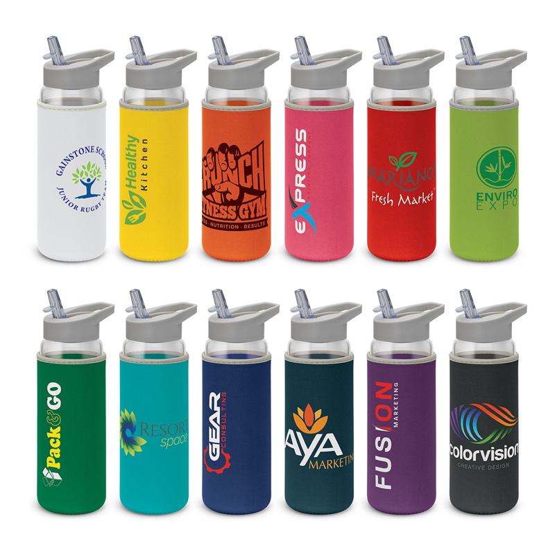 Elixir Glass Bottle - Neoprene Sleeve
