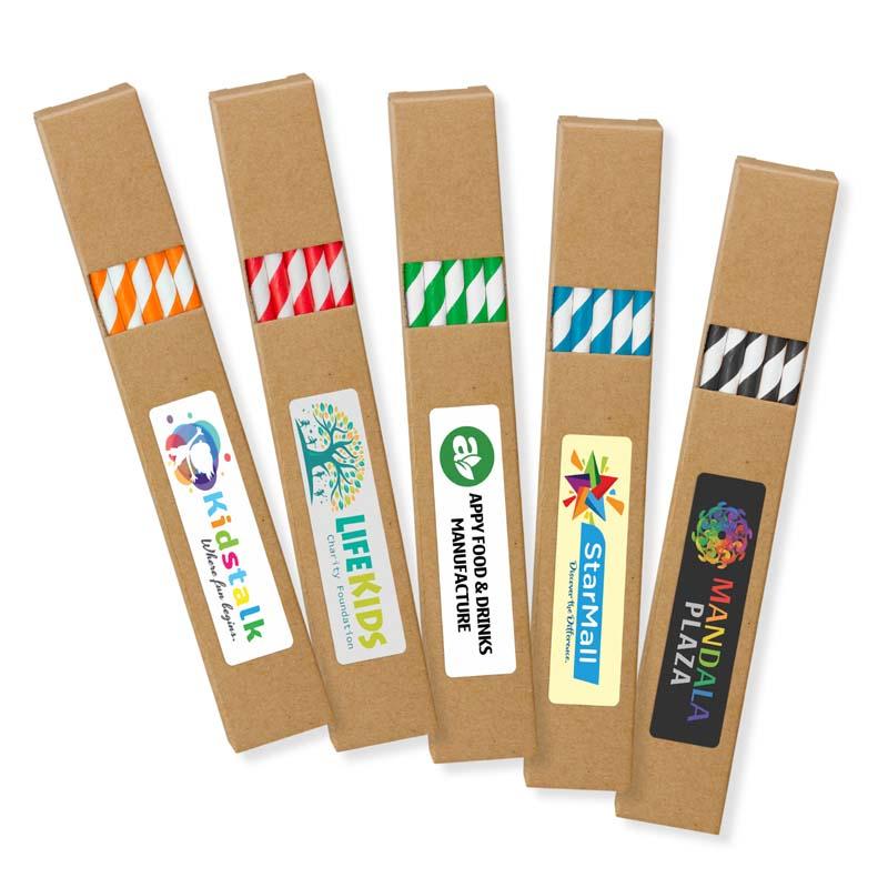 Paper Drinking Straws (Set of 10)