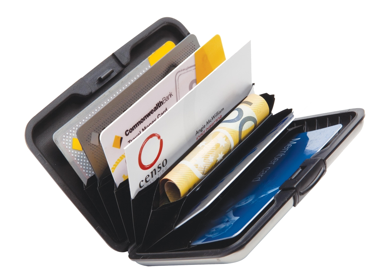 Secure-Card Holder